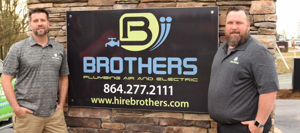 Brothers Plumbing, Air, Electric, and Water Damage in Greer South Carolina