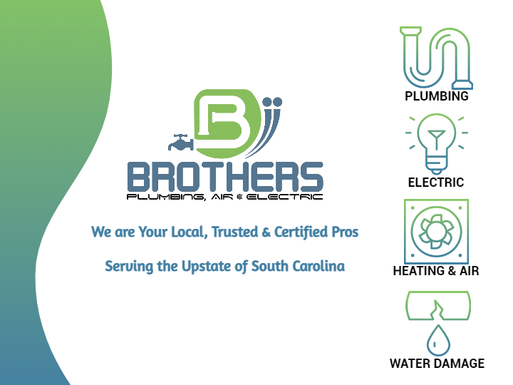Brothers Plumbing, Air, Electric and Water Damage in Greer SC
